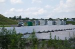 Solar panels at the former French's Landfill site.