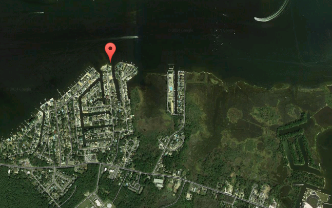 Sandy Point, Brick, N.J. (Credit: Google Maps)