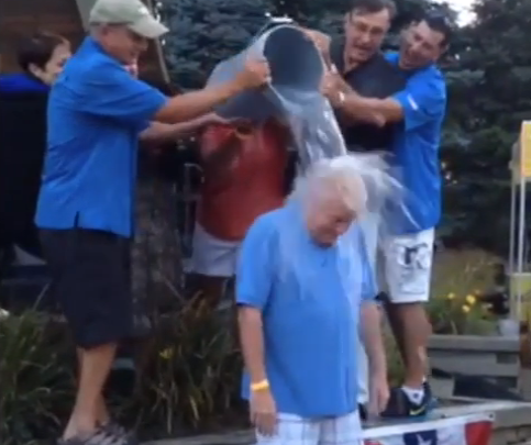 Brick Mayor John Ducey Takes the 'Ice Bucket Challenge' (Photo: Township of Brick)