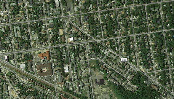 Squankum Road in Lakewood, N.J. (Credit: Google Maps)