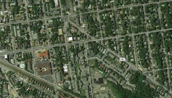 Squankum Road in Lakewood, N.J. (Credit: Google Maps)