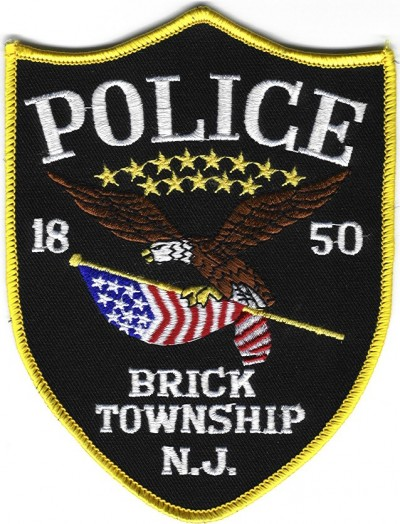 Brick Township Police Patch