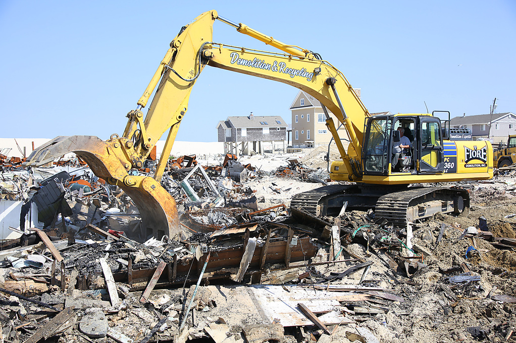 Homes in Brick Township's Camp Osborn section are demolished in the wake of Superstorm Sandy. (Photo Credit: FEMA)
