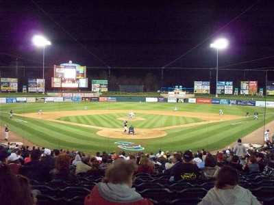 FirstEnergy Park, home of the Lakewood BlueClaws. (Photo: Wikimedia Commons)