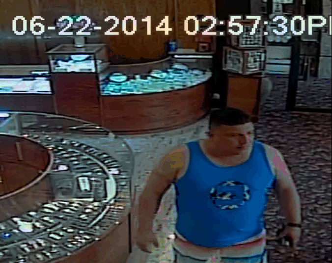 A suspect in the fraudulent sale of a Rolex watch at Gold Fever in Point Pleasant Beach. (Photo: Ocean County Prosecutor's Office)
