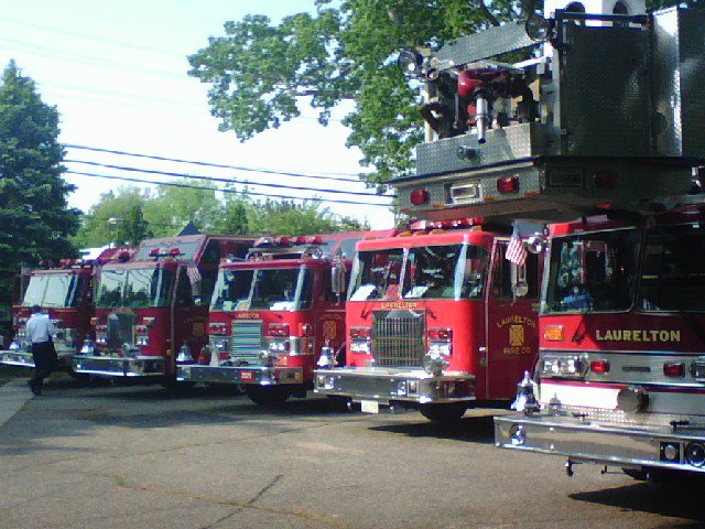 Equipment owned by the Laurelton Fire Company in Brick. (Photo: Laurelton Fire Company)