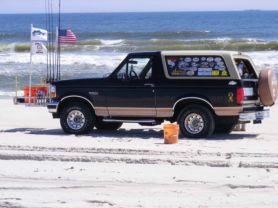 A beach buggy on a local ocean beach. (Photo: N.J. Beach Buggy Association/ Facebook)