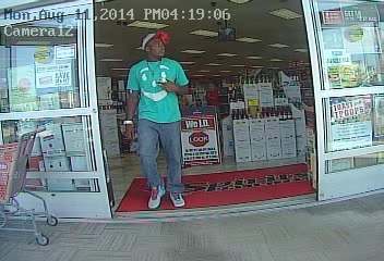 A suspect in the theft of a credit card in Toms River. (Photo: Toms River Police)