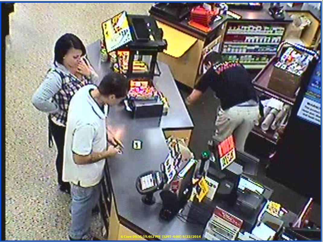Suspects in a credit card theft at the Wawa in Brick, Sept. 23, 2014. (Photo: Brick Twp. Police)