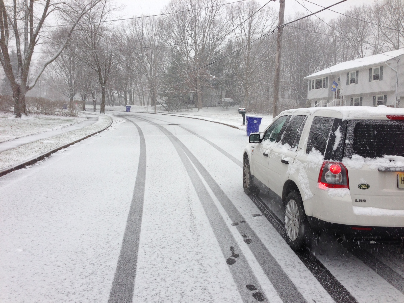 A snowy road in Brick's Herbertsville section in 2013. (Photo: Daniel Nee)