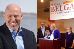 Tom MacArthur and Aimee Belgard. (Photo: Shorebeat)