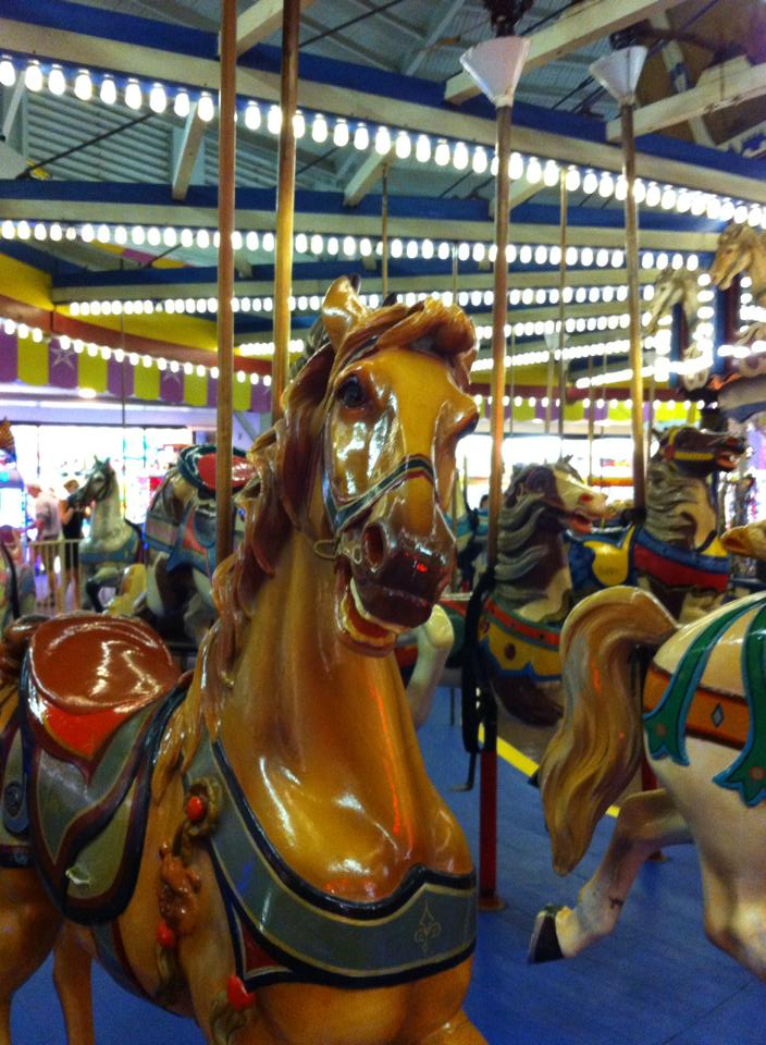 The carousel at Casino Pier, Seaside Heights. (Photo: Seaside Heights Boardwalk/ Facebook)