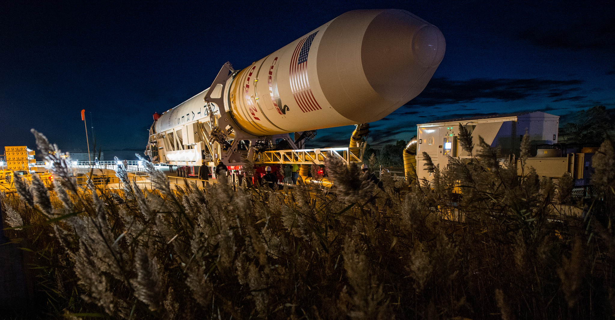 The Orb-3 rocket, now set to launch Oct. 28. (Photo: NASA)