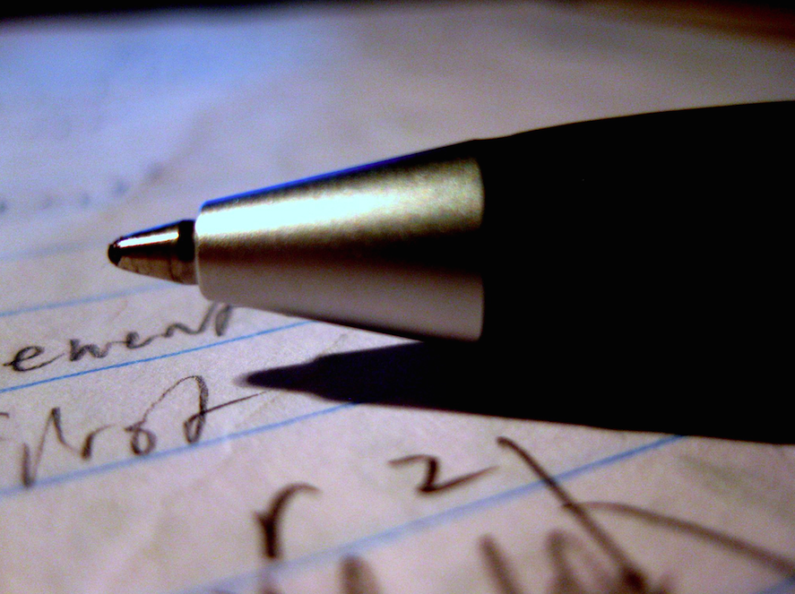 Pen and Paper. (Photo: Scott Akerman/Flickr)