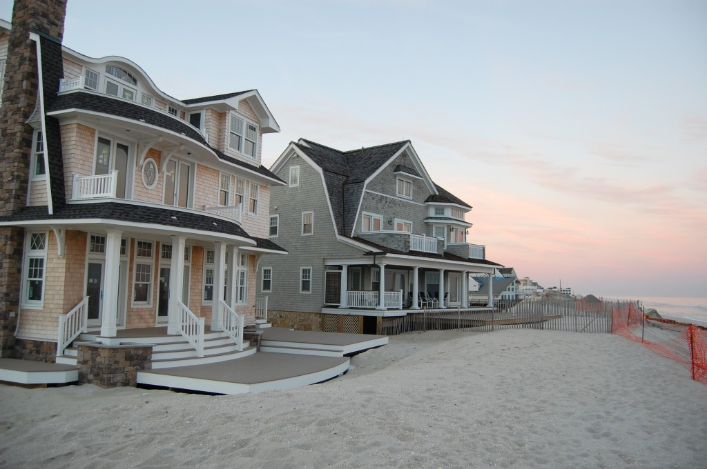 Homes along the oceanfront in Brick, N.J. (Photo: Daniel Nee)