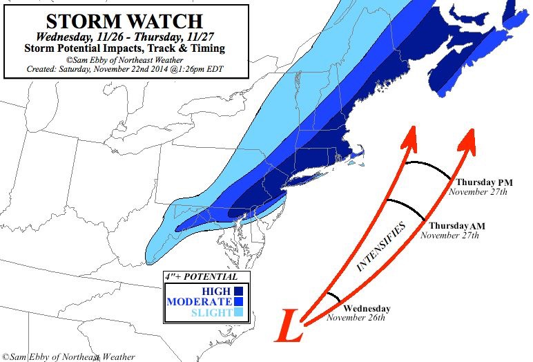 Credit: Northeast Weather/Facebook