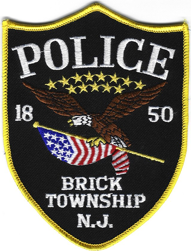 The Brick Township Police Patch/Logo (File Photo)