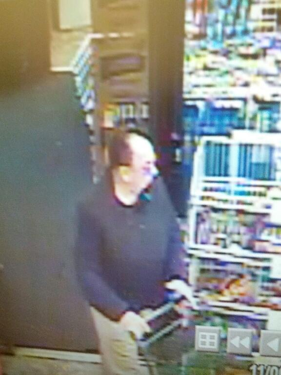 Toms River police say this man exposed himself to a young girl in a Dollar Tree store. (Photo: TRPD)