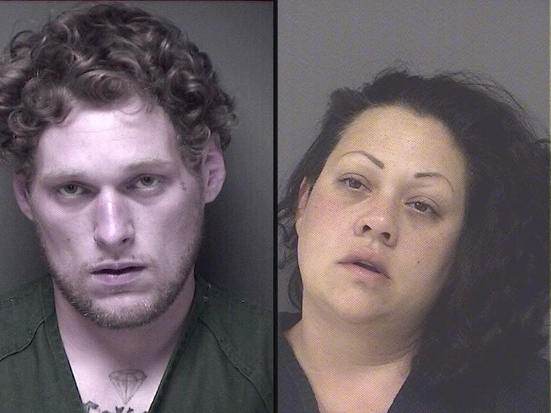 Colin H. Evans and Erin N. Bozeth (Photo: Ocean County Jail)