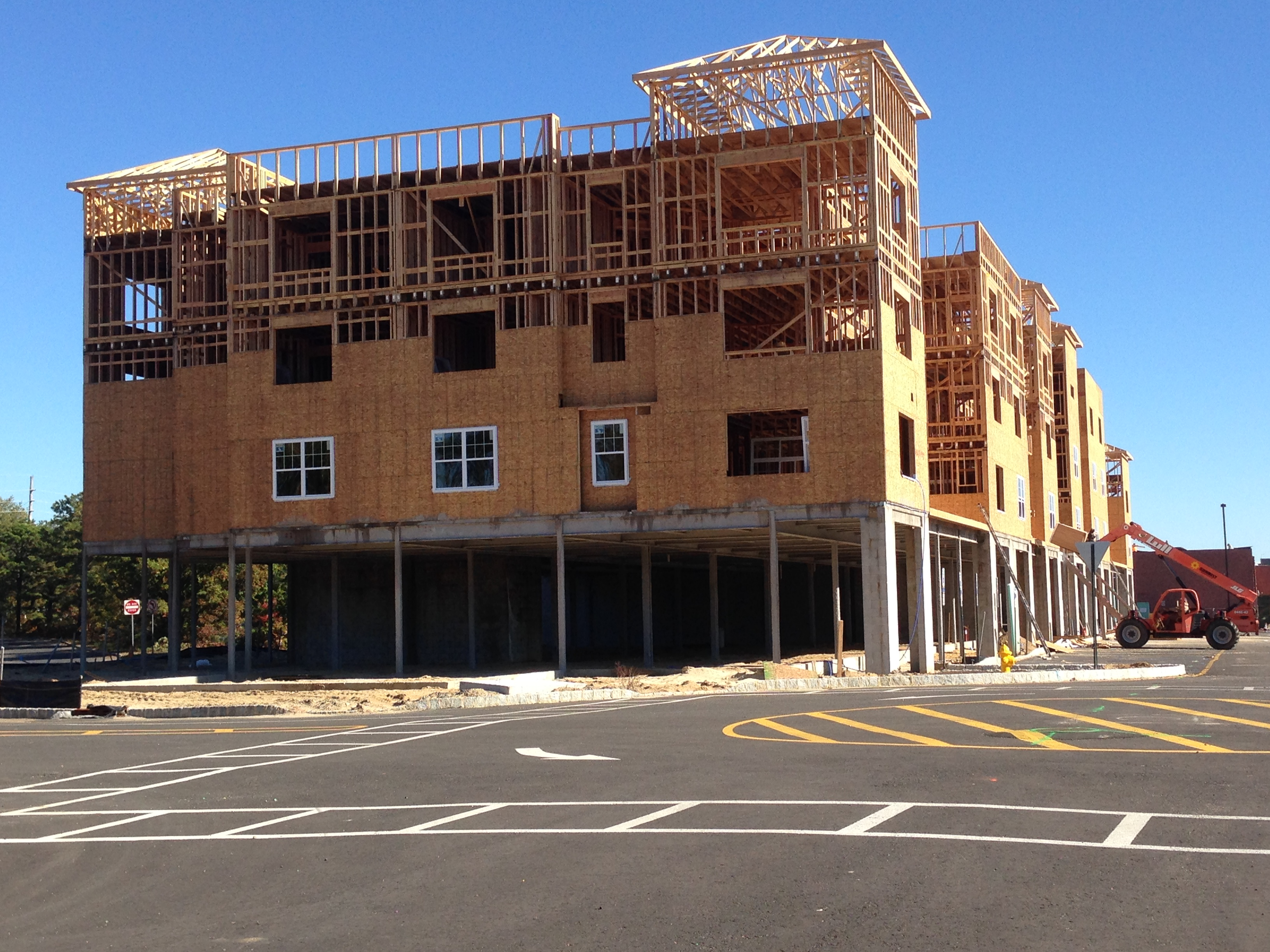 The New Visions, formerly Nobility Crest, development under construction in Brick, N.J. (Photo: Daniel Nee)