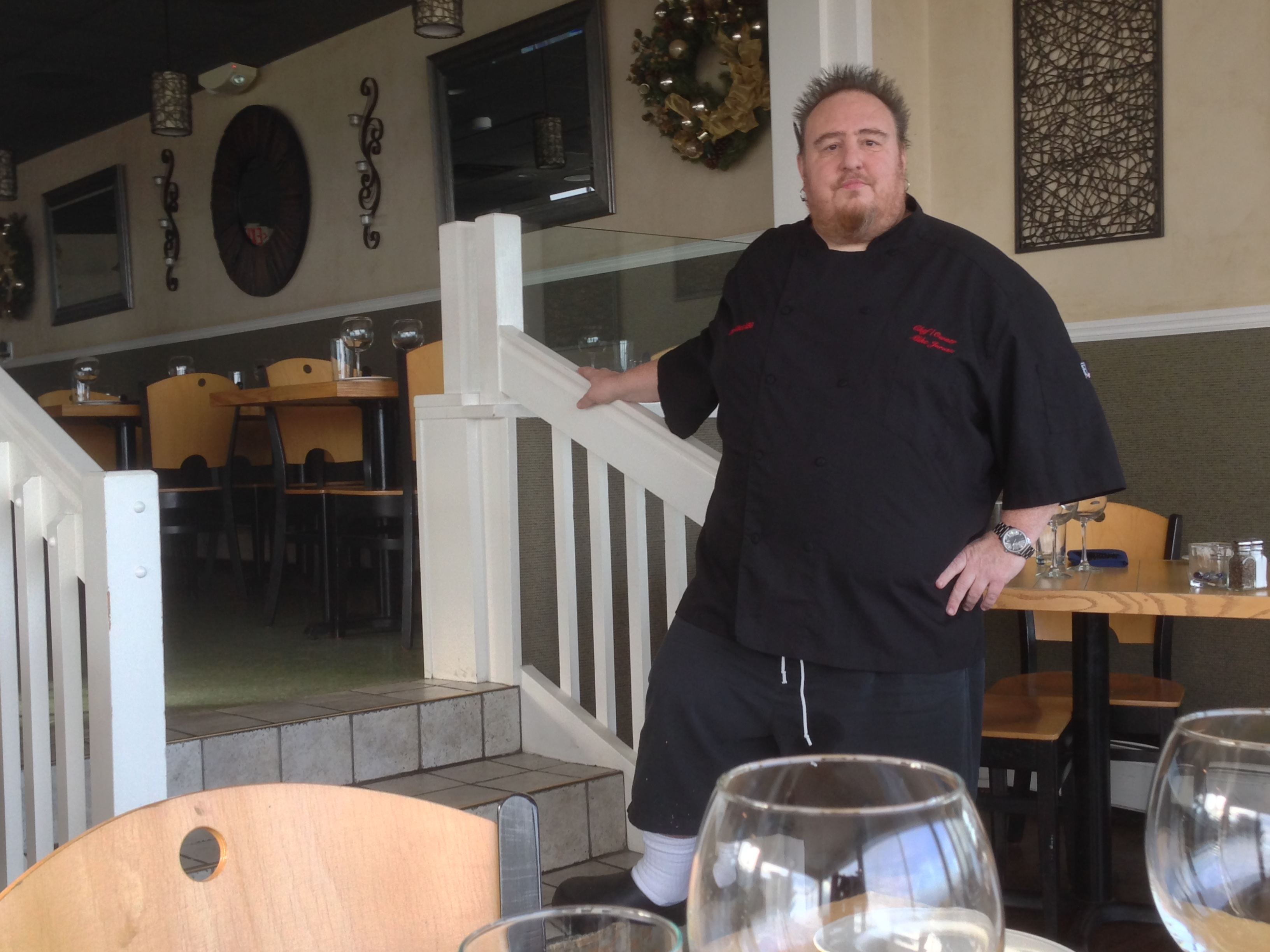 Chef Mike Jurusz, owner of Chef Mike's ABG in South Seaside Park. (Photo: Daniel Nee)