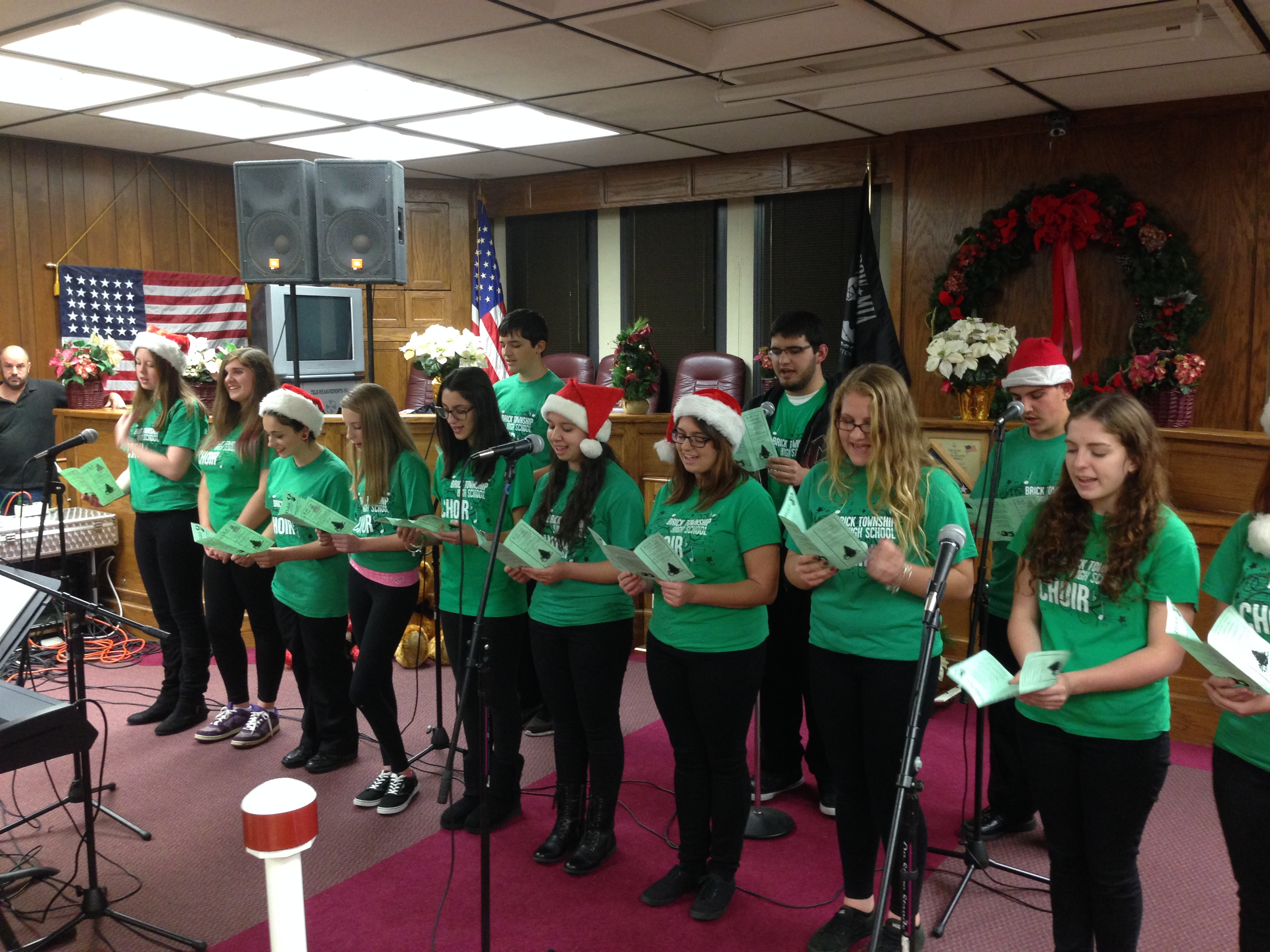 Brick Township High School Chorus (Credit: Daniel Nee)