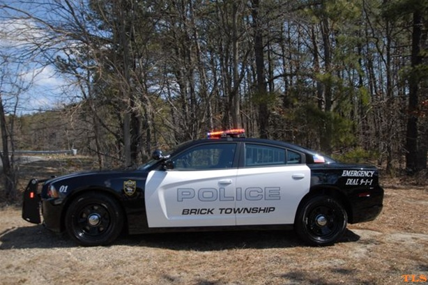 A Brick Police Dodge Charger (Photo: Brick Twp. Police)