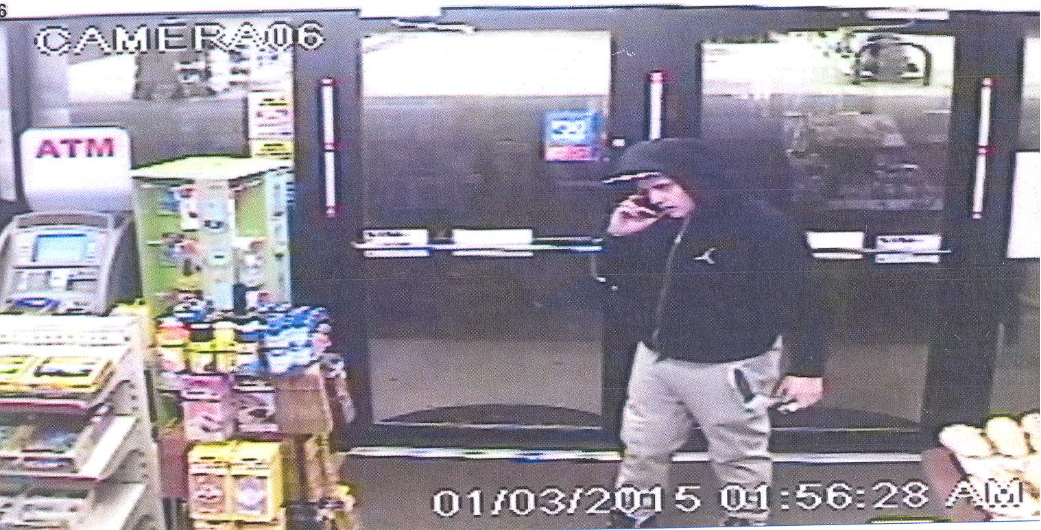 The man in this photo used a credit card in Brick that was taken from a car in Berkeley, police say. (Photo: Brick Twp. Police)