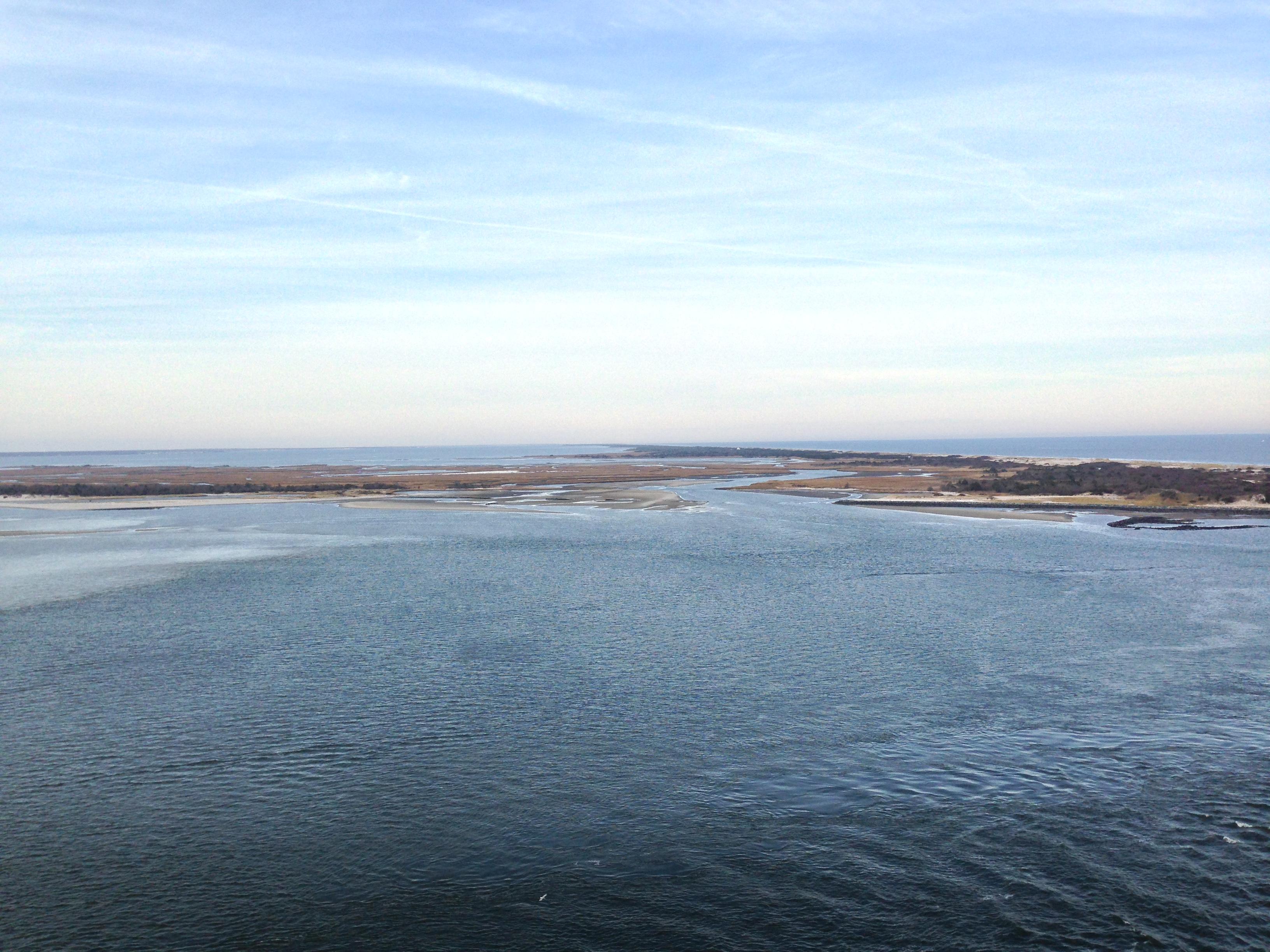 Barnegat Bay and the Atlantic Ocean from the top of Barnegat Lighthouse. (Photo: Daniel Nee)