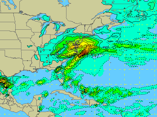 The GFS forecast model for Feb. 1-2. (NCAR)