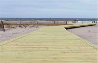 Fishermen's Walkway, Island Beach State Park (File Photo)