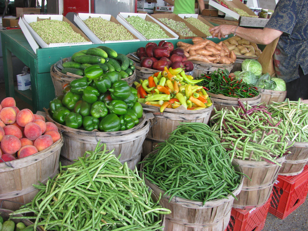 Farmers Market. (Photo: NatalieMaynor/Flickr)