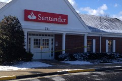 The Santander bank branch on Route 37 in Toms River, robbed Jan. 6, 2015. (Photo: TRPD)