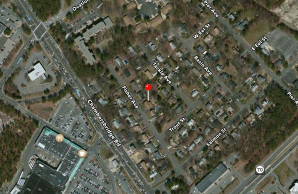 Fisher Avenue in Brick. (Credit: Apple Maps)