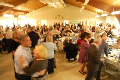 A packed house at St. Dominic Parish Center for the Bobby Buecker Foundation dinner-dance. (Photo: Daniel Nee)