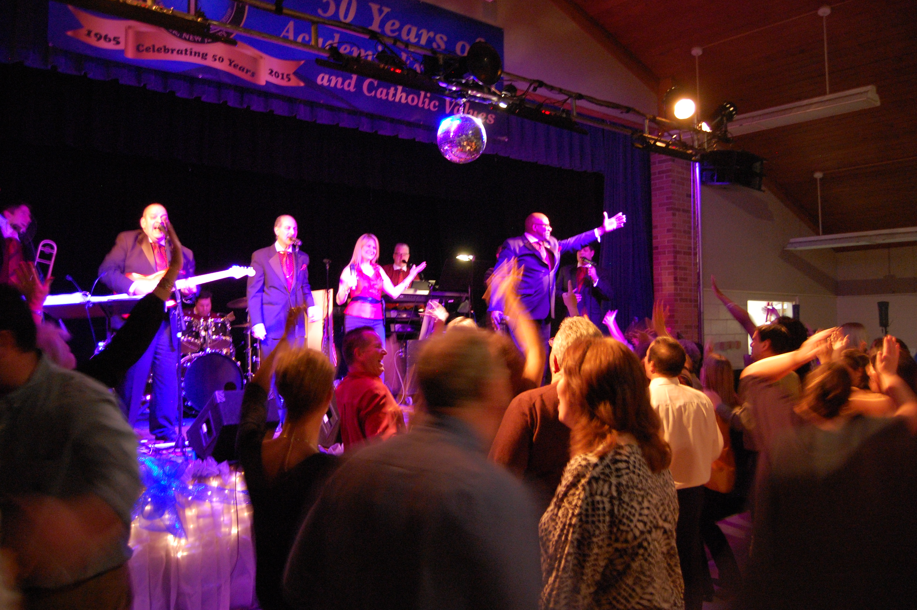 The Infernos perform at the Bobby Buecker Foundation dinner, Feb. 28, 2015. (Photo: Daniel Nee)