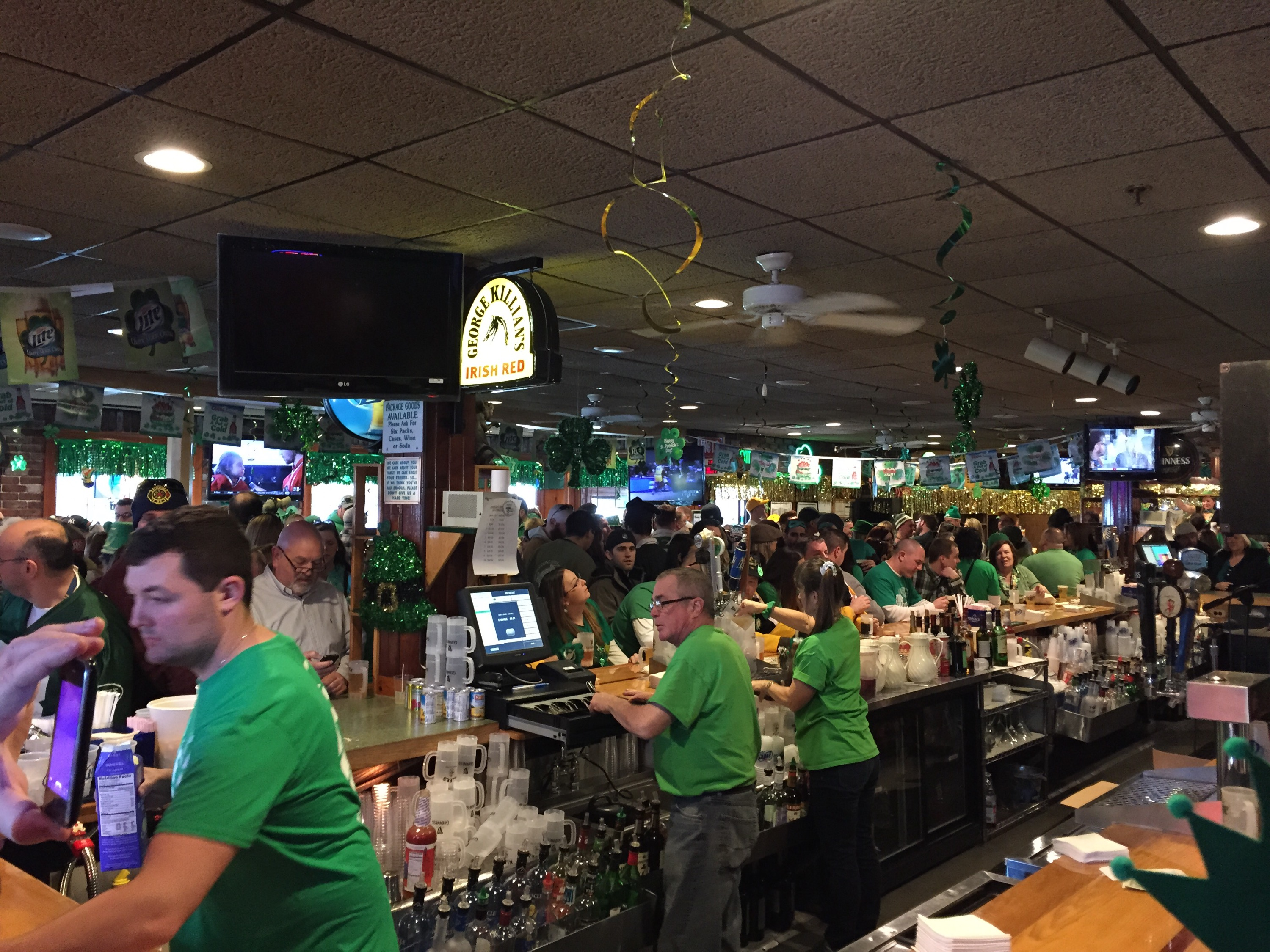 Klee's, Seaside Heights, N.J., during the Ocean County St. Patrick's Day Parade. (Photo: Daniel Nee)