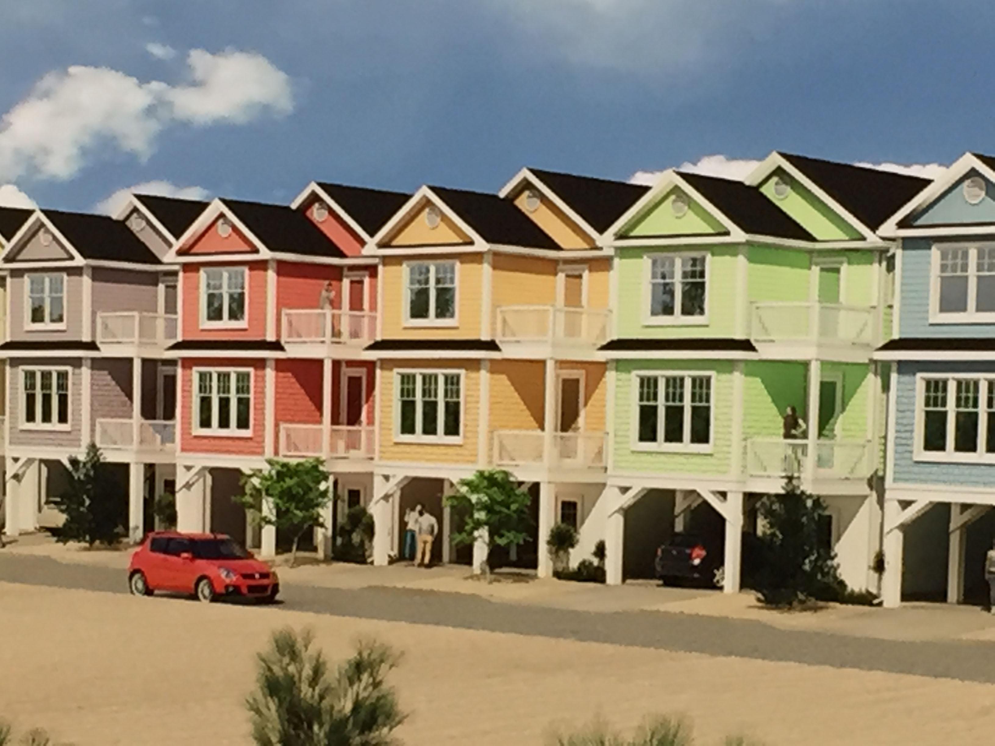 Homes proposed for Brick's Camp Osborn neighborhood. (Photo: Daniel Nee)