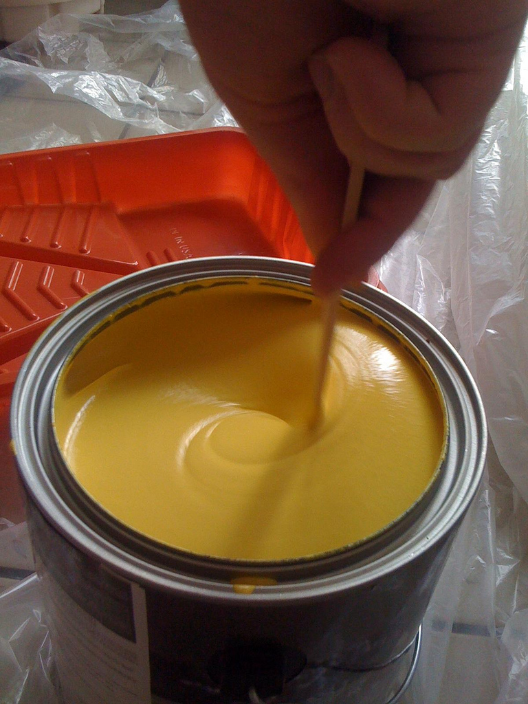 Paint can. (Credit: Ewen Roberts/Flickr)