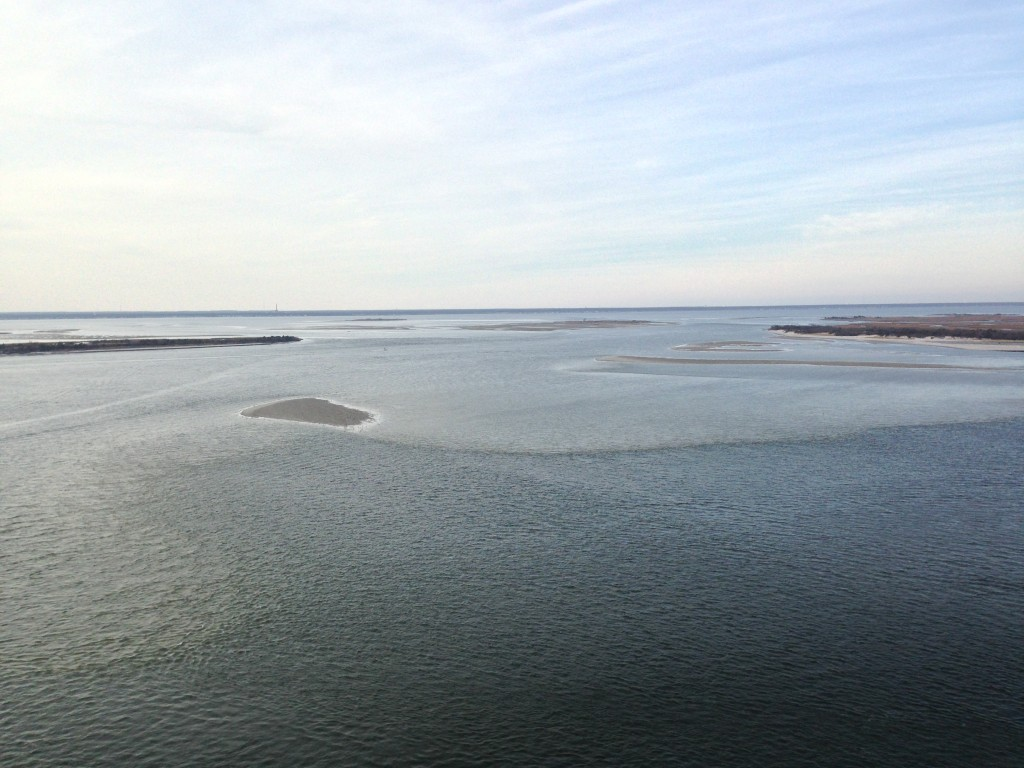 The Oyster Creek Channel, which leads from Barnegat Bay to Barnegat Inlet. (Photo: Daniel Nee)