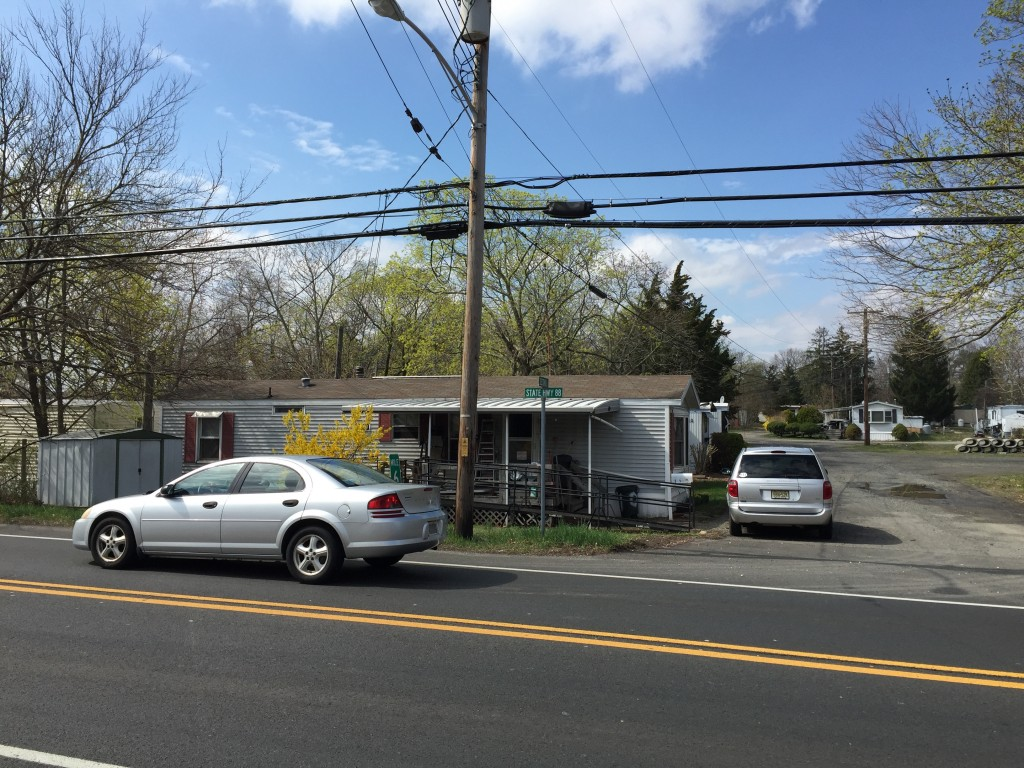 The Laurelton Mobile Home Park, off Route 88 in Brick. (Photo: Daniel Nee)