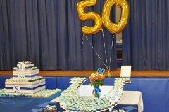 A 50th anniversary celebration at Lanes Mill Elementary School. (Photo: Township of Brick)