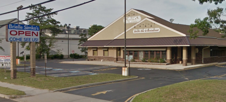 The former Simko's Bar and Grill in Brick, N.J. (Credit: Google Maps)