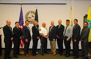 Special police officers sworn in May 18, 2015 in Brick. (Photo: Brick Twp. Police)