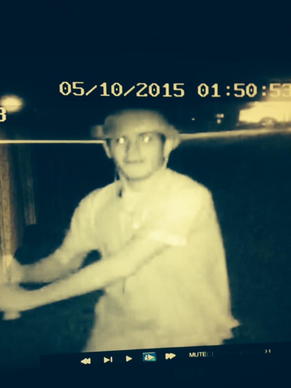 A man who damaged a Lake Riviera home with a baseball bat, May 10, 2015. (Photo: Brick Twp. Police)
