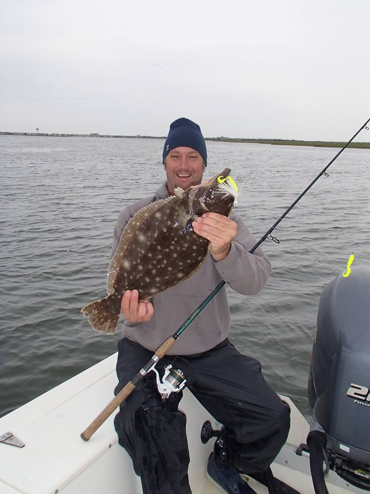 Fishing friday good signs as fluke season begins brick for Nj shore fishing report
