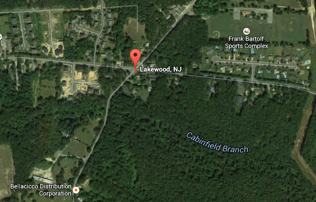 East County Line Road at the intersection with Brook Road. (Credit: Google)