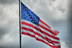 American flag. (Credit: Kim Hill/Flickr)