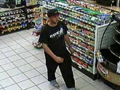 The suspect in a case of credit cars fraud at the Speedway gas station in Brick. (Photo: Brick Twp. Police)