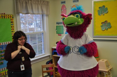 Sparks, the Ocean County Library mascot. (Photo: OCL)